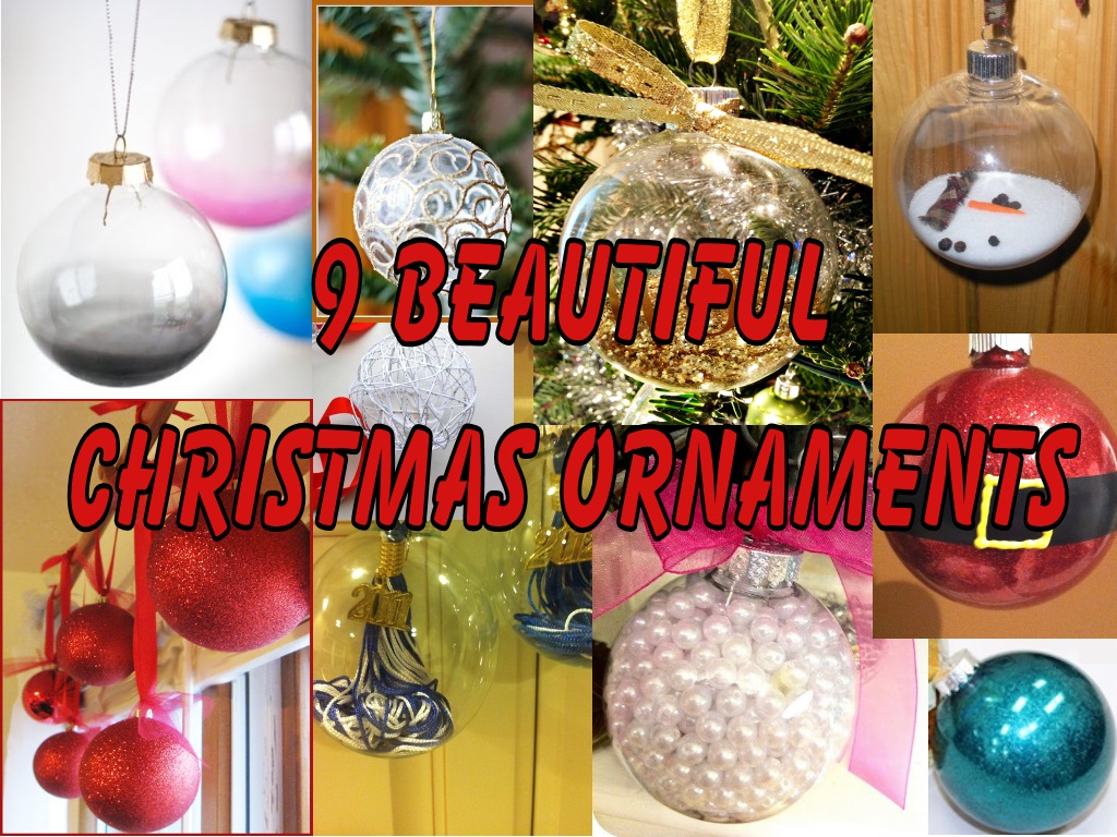 Beautiful ornaments craft like this