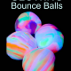 glowing bounce balls diy
