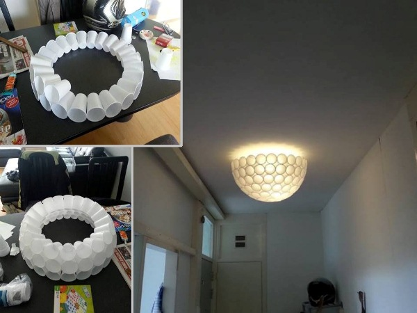 lamp-made-from-plastic-cups