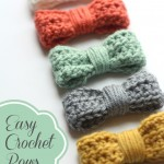 Crochet Bow Tutorial